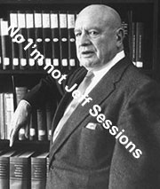 Jeff Sessions ? or Anslinger, not sure.